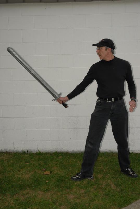 Single Sword Stance